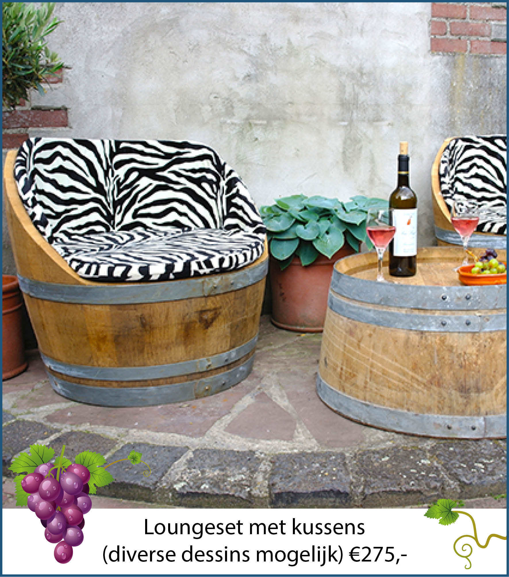 Wijnvaten   Klusservice Laarbeek